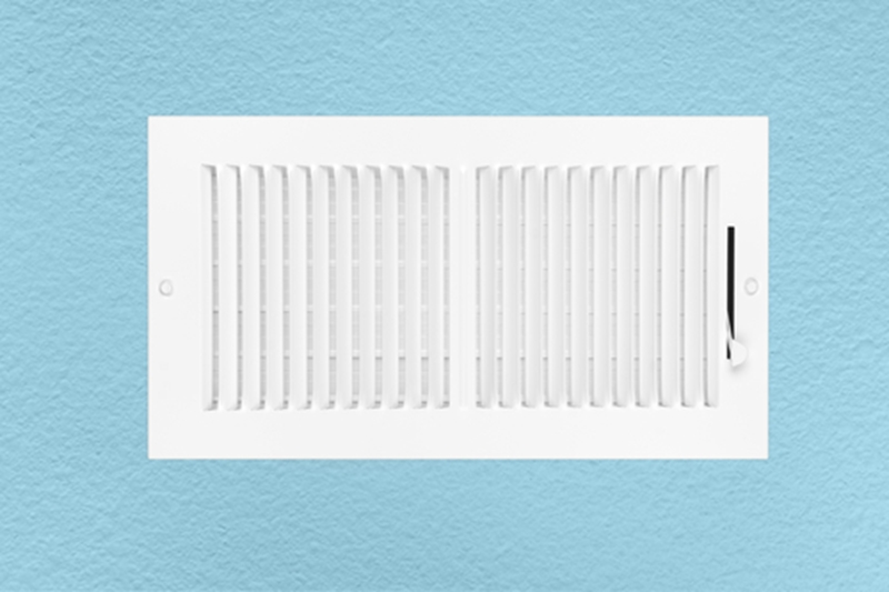Check your heating vents to make sure they're working correctly.