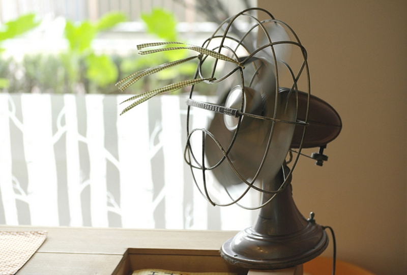 A single fan often doesn't suffice to cool down the hottest rooms in the house.